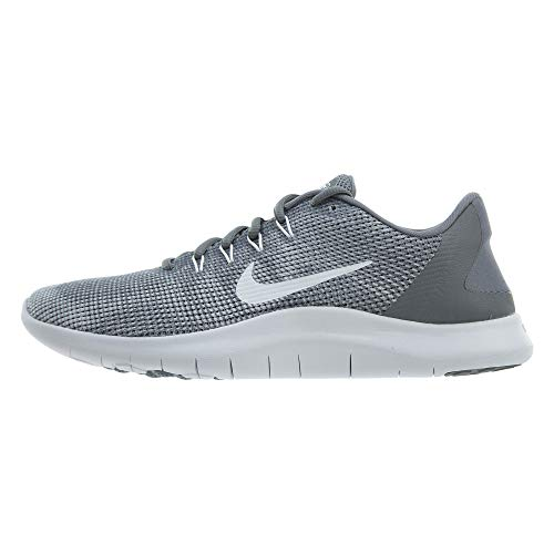 Nike Herren Flex 2018 RN Laufschuhe, Grau (Cool Grey/White 001), 42.5 EU