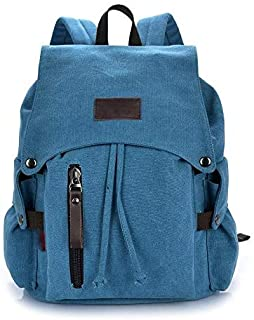 Fyuanmeiibb Backpack, Fashion Men Casual Canvas Backpacks for Laptop Orotund Capacity Computer Schoolbags Casual Student S...