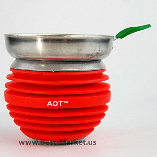 apple on top hookah bowl - 2