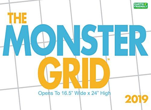Monster Grid 2019 Wall Calendar