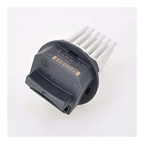 LinYom Radiador Calentador Motor Relay Sopler Resistor 644 1S7 05072145AAA / Fit para Citroen C3 C4 C5 C6 DS3 / Ajuste para Peugeot 307 407 /