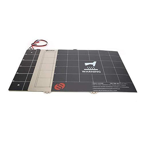 220220mm Stampante 3D MK3 Letto magnetico riscaldato Kit termistore per cablaggio 24V con lamiera di acciaio per MK3 Ender 5 Parti per stampante 3D Accessori per stampa 3D (Dimensioni: solo letto risc