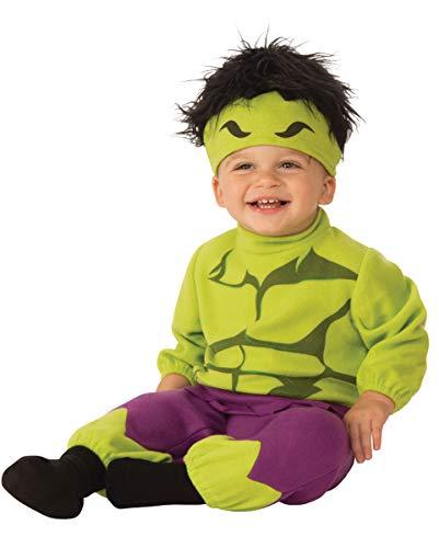 Horror-Shop Hulk Baby Kostüm Onesie für den ersten Fasching