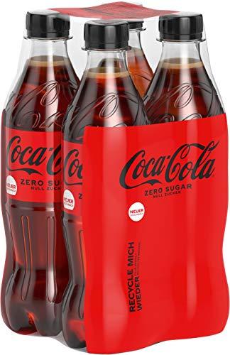 Coca-Cola Zero Sugar EINWEG, (4 x 0,5 l)