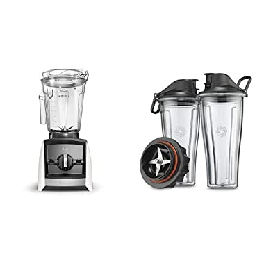 Vitamix Ascent A2300 Blender, White Bundle