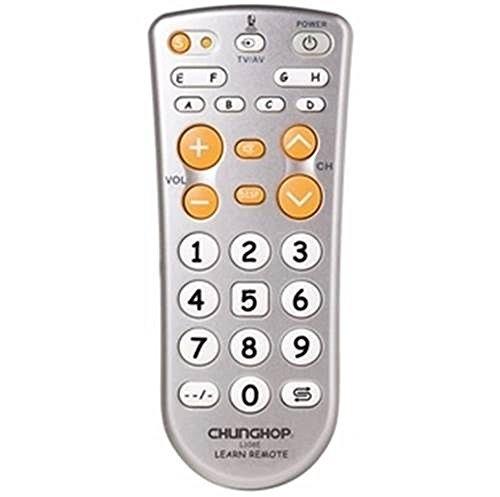 お年寄りにも 学習 リモコン シンプル 大きなボタン TVリモコン 【並行輸入品】 CHUNGHOP (多機能用)
