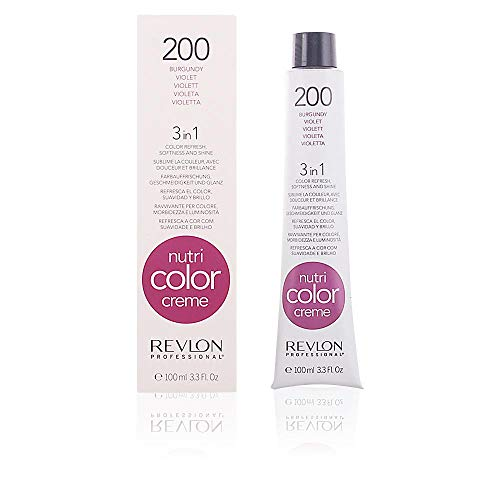 Revlon Cura Capillare, Nutri Color Cream, 200-Burgundy, 100 Ml
