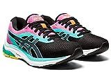 ASICS Women's Gel-Pulse 12 Running Shoes, 9.5M, Black/Carrier Grey
