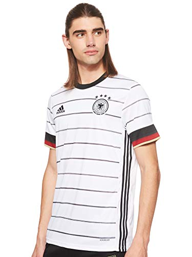 adidas Herren DFB H JSY T-Shirt, White/Black, XS