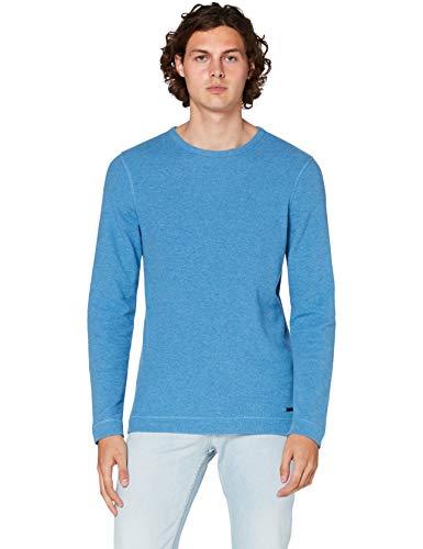 BOSS Herren Tempest Sweatshirts, Turquoise/Aqua (440), XXX-Large