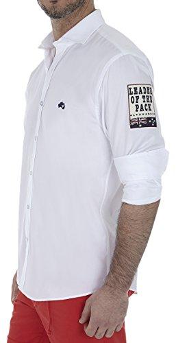 Altonadock PV18275020646 Camisa Casual, Blanco, Large (Tamaño del Fabricante:L) para Hombre
