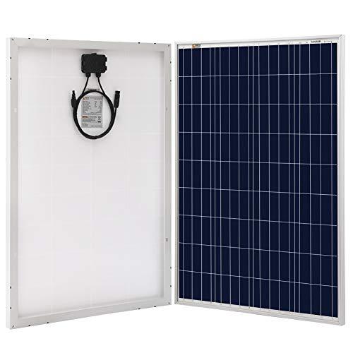 Richsolar 100 Watt Polycrystalline 100W 12V Solar Panel High...