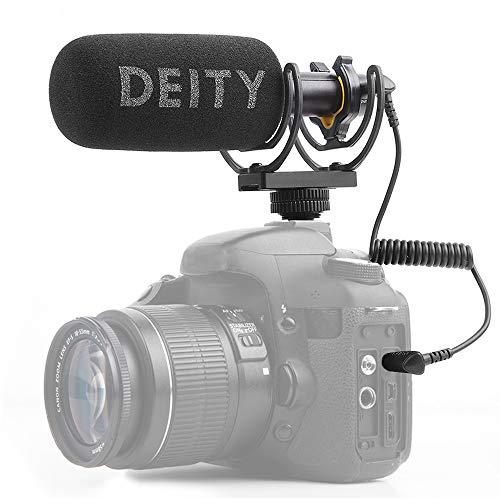 Deity V-Mic D3 Pro - Micrófono de diodo con micrófono direccional con Zapata fría Rycote Shockmount para cámaras réflex, videocámaras, Smartphones, tabletas, grabadoras prácticas