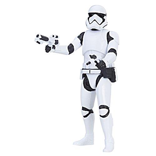 Hasbro – Star Wars: Die letzten Jedi – First Order Stormtrooper – Force Link Action Figur 10 cm [UK Import]