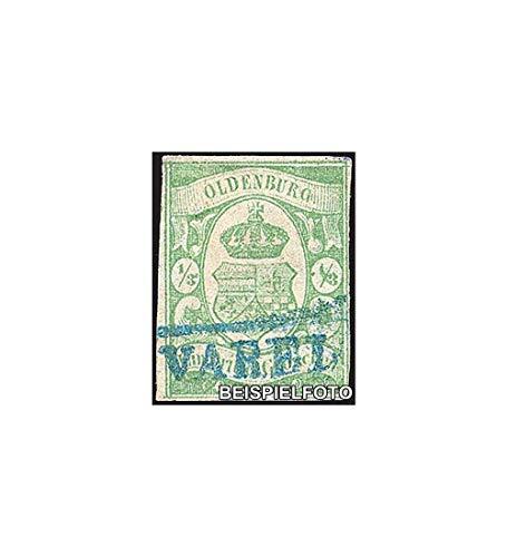 Goldhahn Oldenburg Nr. 10 gestempelt Briefmarken für Sammler