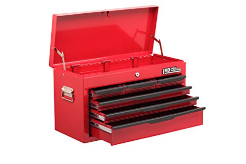 Hilka G208C6BBS Robuster Werkzeugkasten, 6 Schubladen