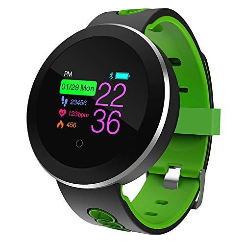 Smart Watch, Q8 Bluetooth Fitness-Smartwatch Fitness-Tracker Uhr Sportuhr mit IP68 Wasserdicht Herzfrequenz Blutdruckmessung Blutsauerstoff Monitor Schrittzähler Touchscreen