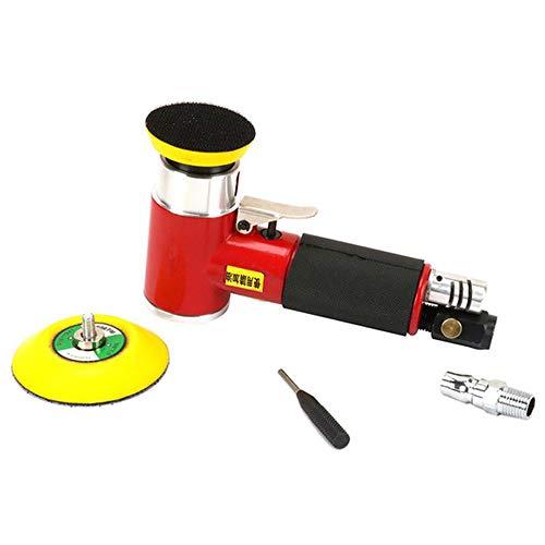 QWERTOUR 3 inch Mini Air Sander Kit Pad Excentrische Orbitale Dual Action Pneumatische Polijstmachine Polijstbuffeergereedschap Voor Auto Body Wor