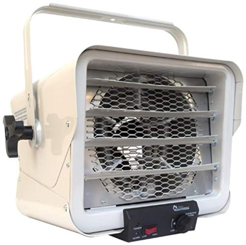 Dr. Heater DR966 240-volt Hardwired Shop Garage Commercial Heater, 3000-watt/6000-watt, DR966 240V