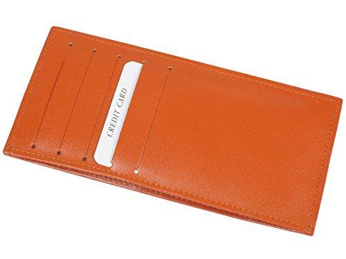 カードケース カード1 0枚 収納 ウォレットイン 両面 薄型 牛革 製 日本 製 2217 (オレンジ) 03058428
