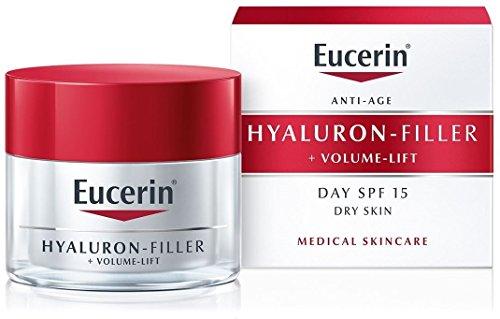 Eucerin SPF15 - Relleno de hialurón y crema de elevación de volumen para piel seca (50 ml), por Total Body Care UK