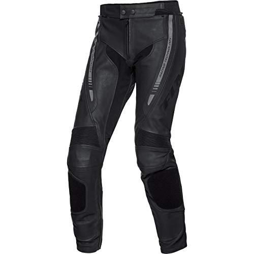 FLM Kombihose Lederkombi Motorradhose mit Protektoren Sports Leder Kombihose 4.0 schwarz 52, Herren, Sportler, Ganzjährig