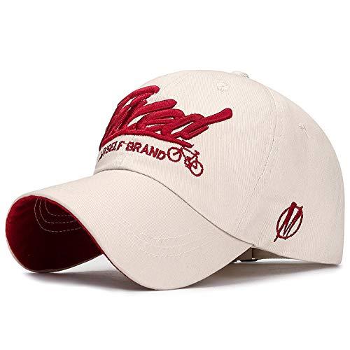 Gorra De Beisbol Gorra De Béisbol paraHombre Sombrero Bordadopara MujerGorra De Hombre56-61Cmadjustable Beige