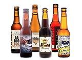 🎁Sélection de 6 bières idéal en cadeau pour offrir à un amateur de bière lors d'un anniversaire, pour la fête des pères, la fête des mères ou Noël 🏅 6 bières bouteille 33cl de France & du Monde sélectionnées par un biérologue avec des bouteilles méda...