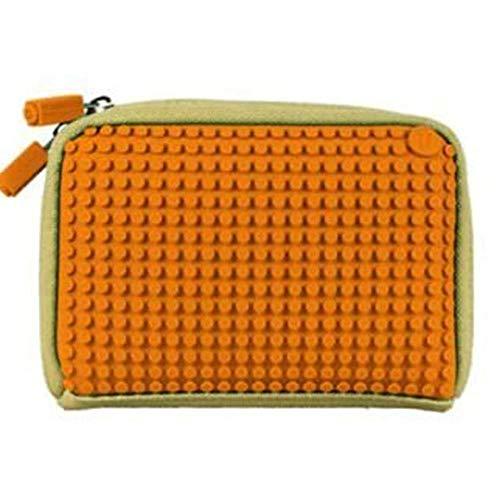 Upixel WY-B001-TE handtas van linnen, beige/oranje