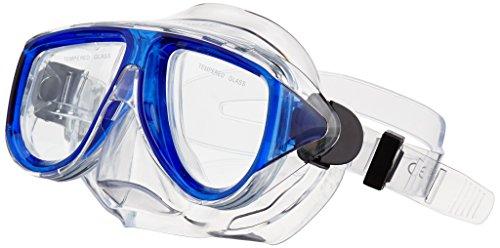 Waimea Unisexe 88di Senior Masque de plongée avec Tuba, Bleu Cobalt, Taille Unique
