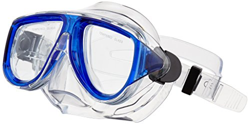 Waimea duikmasker met snorkel senior kobaltblauw