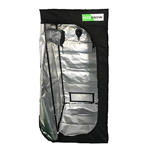 Growzelt NICEGROW Box 90 x 50 x 180cm Growbox Tent