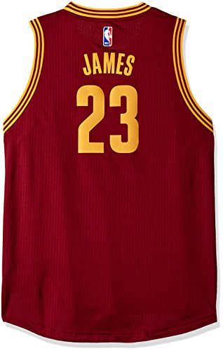 Outerstuff Youth Boys NBA Player Swingman Jersey-Road Cleveland Cavaliers-Lebron James, Youth X-Large (16-18)