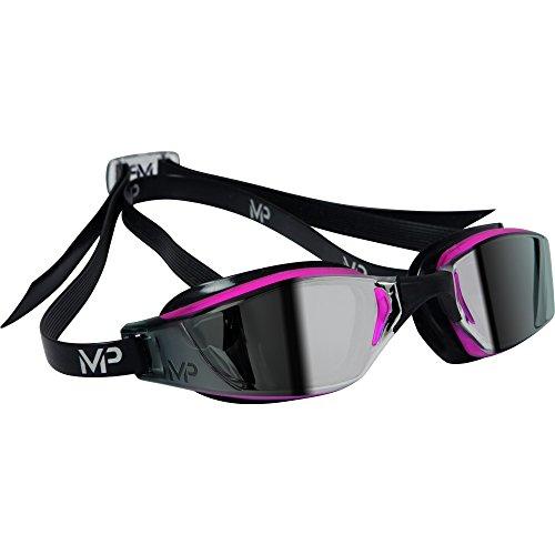 MP™ (Michael Phelps) Damen Mirrored Xceed Schwimmbrille (Einheitsgröße) (Pink/Schwarz)