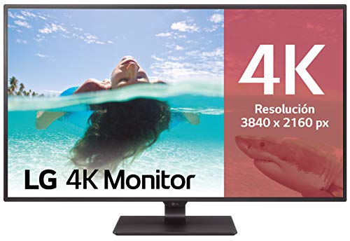 "LG 43UD79-B - Monitor 4K UHD de 108 cm (42,5"") con Panel IPS (3840 x 2160 píxeles, 16:9, 350 cd/m², NTSC >72%, 1000:1, 8 ms, 60 Hz) Color Negro"