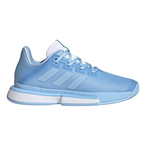 Adidas Sole Match Bounce Clay Court Shoe Special Edition Women Light Blue