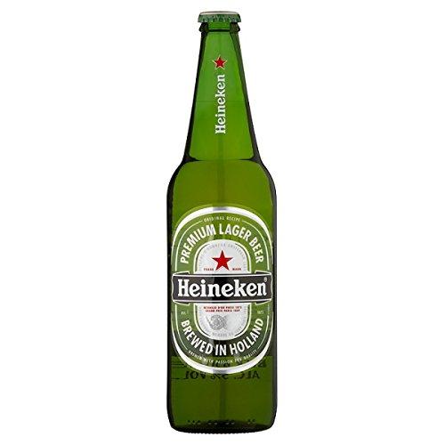 Heineken Premium Lager Bier 650ml (Packung mit 12 x 650 ml)