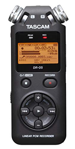 TASCAM DR-05 Portable Digital Recorder (Version 2)