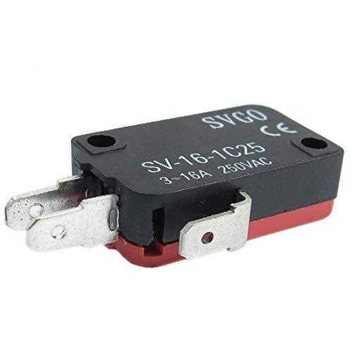 New Lon0167 AC250V 3-16A Destacados Olla arrocera Micro eficacia confiable interruptor del interruptor de límite SPDT Acción instantánea instantánea(id:447 be 07 40a)