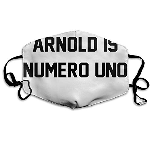 ghjkuyt412 Mouth Cover Face Cover Arnold Schwarzenegger Arnold Is Numero Uno Washable Mouth Cover Reusable Mouth Scarf Face Scarf for Kids Adults