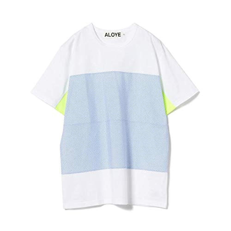 レイ ビームス(Ray BEAMS) ALOYE / ブルー ストライプ Tシャツ