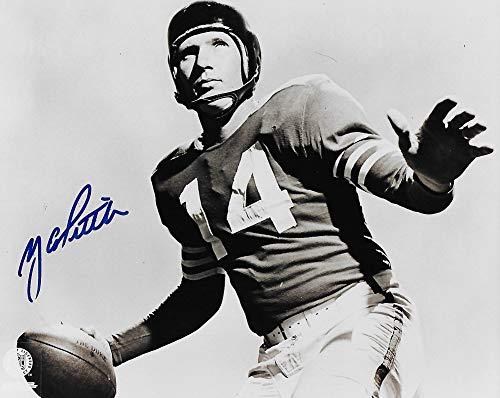 Y.A. Tittle (San Francisco 49ers) Signed Autographed 8x10 Photo (PSA/DNA COA)