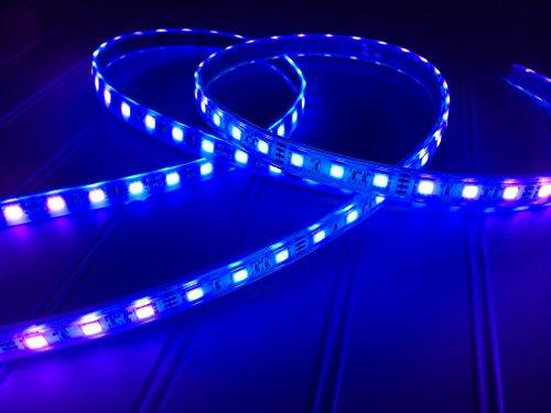 16 ft LED blue Light Night Fishing LED Strip UV Ultraviolet boat fishing 12v