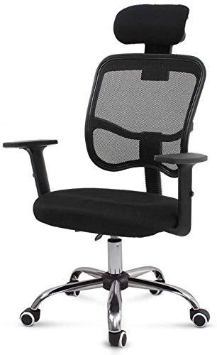 GAOLILI Bürostuhl mit Armlehne Spielstuhl Schwenkzwecke Mid Back Mesh Task Chair mit Waffen Ergonomisch Computer/Bürostuhl