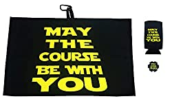 star wars inspired golf towel