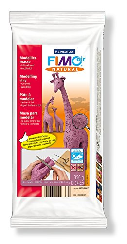 Staedtler 8150 FIMOair natural Modelliermasse , lufthärtend, 350g, Erika