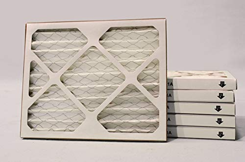 9x11x1 MERV 8 Pleated Air Filter - 6 Pack