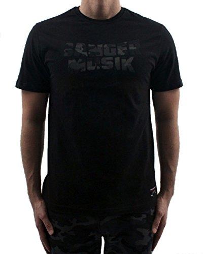 Banger Musik T-Shirt Logo Camouflage (S)