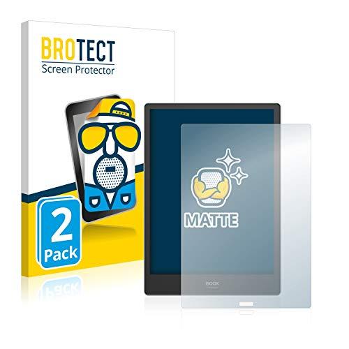 BROTECT 2x Antireflecterende Beschermfolie compatibel met Onyx Boox Note Pro Anti-Glare Screen Protector, Mat…