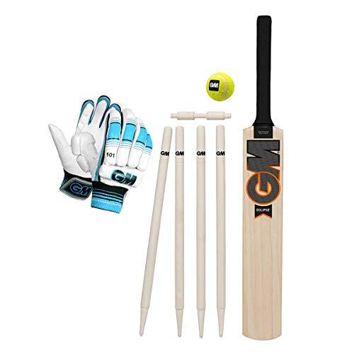GM GM Eclipse Cricket Set Eclipse, Size-2 1 Eclipse Cricket Bat